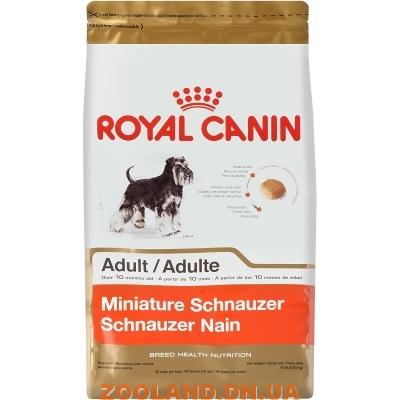Цвергшнауцер корм royal canin