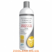 Veterinary Formula Clinical Care Oatmeal&Tea Tree Oil Infuser Shampoo УВЛАЖНЯЮЩИЙ ШАМПУНЬ для собак