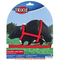TRIXIE Поводок-шлейка''Harness with Lead for Ferrets and Rats''