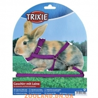 TRIXIE Поводок-шлейка''Harness with Lead for Rabbits and Guinea Pigs''