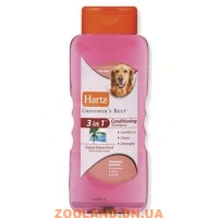 HARTZ Groomer`s Best 3in1 Conditioning Shampoo