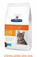 HIILS Prescription Diet Feline c/d Multicare океаническая рыба